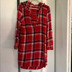 Old navy flannel dress